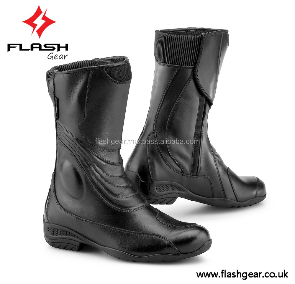 New Arival 2016 Motorcycle Race Boot,Flash Gear Synthetic Upper ...