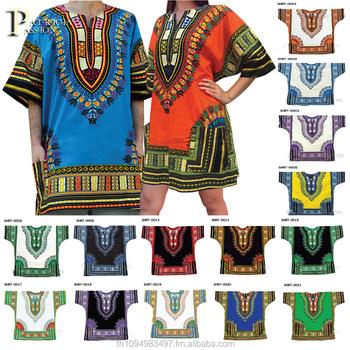 f61fac16db4 Unisex men women African Dashiki Shirt Tribal Plus Size M