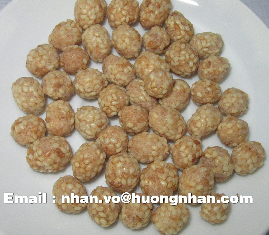 Sesame Coated Peanuts - 10kgs/ Vacuum Bag/ Carton