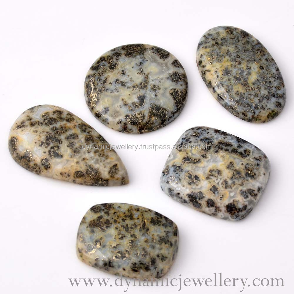 Loose Semi Precious Apache Gold Gemstone