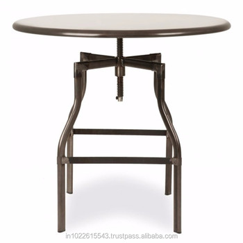 Adjustable Height Cafe Table Buy Adjustable Height Dining Table - Adjustable height cafe table