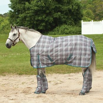 Winter Horse Rug In Check Print