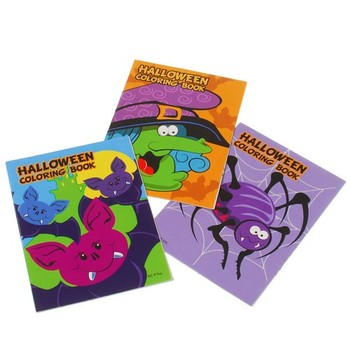 SMALL HALLOWEEN COLORING BOOKS #fa878