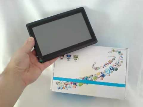 "Cheapest 7"" tablet with android 4.0 512MB DDR3 RAM, Allwinner A13 1.0GHz - Free shipping worldwide"