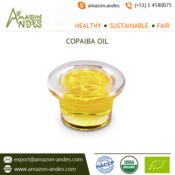 High Purity Copaiba Oil at Best Market Price from Trusted Supplier