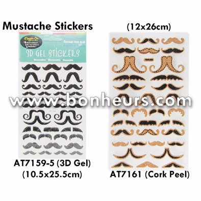 AT7159-5 3D GEL STICKERS