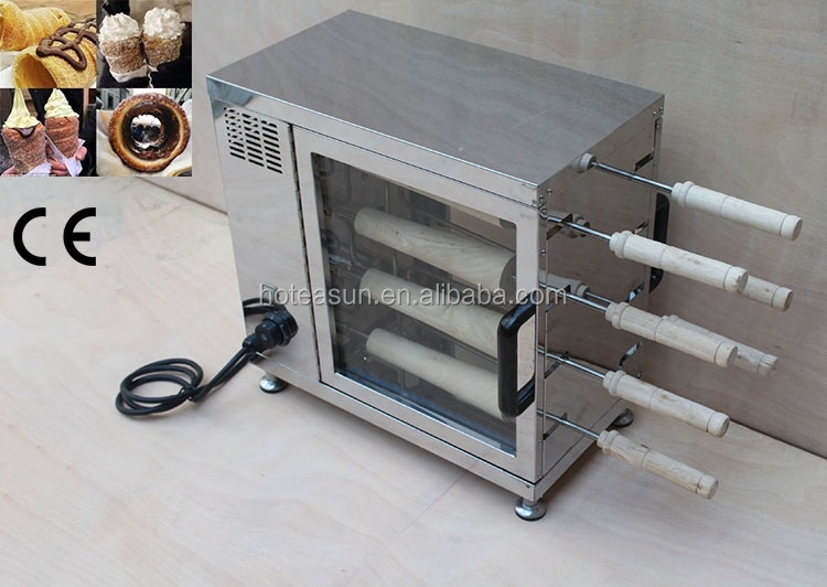 Commercial 110V 22V Electric Chimney Cake Oven Kurtos Kalacs Maker Machine