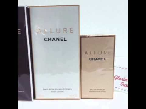 Chanel Allure EDP 35 ml Chanel Allure Body Lotion Chanel Allure 200 ml Allure Sensuelle 200 ml
