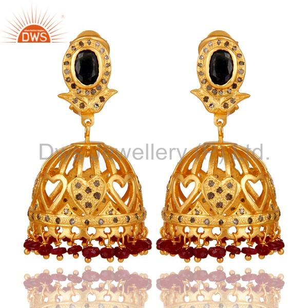 58408cc60 India Design Gold Earrings Tops, India Design Gold Earrings Tops  Manufacturers and Suppliers on Alibaba.com