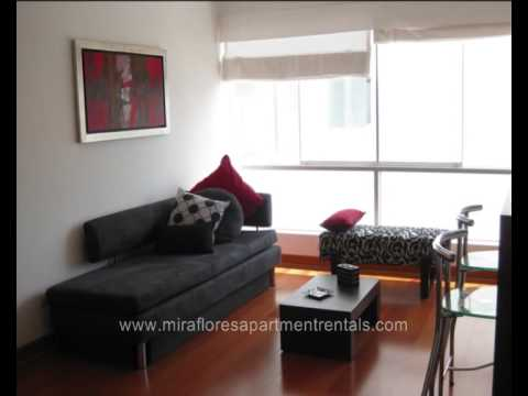 Apartment for rent Miraflores, behind Marriott 1 block from Larcomar Lima Peru