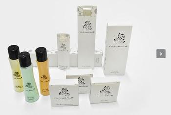 Naturale servizi dell hotel prodotti da bagno set shampoo gel