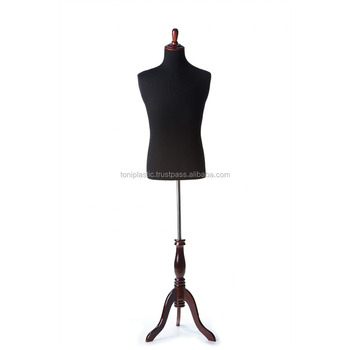 Good WOODEN STAND MALE DRESS FORM, TAILOR MANNEQUIN, DRESSMAKER MANNEQUIN,  ADJUSTABLE MANNEQUIN, PROFESSIONAL