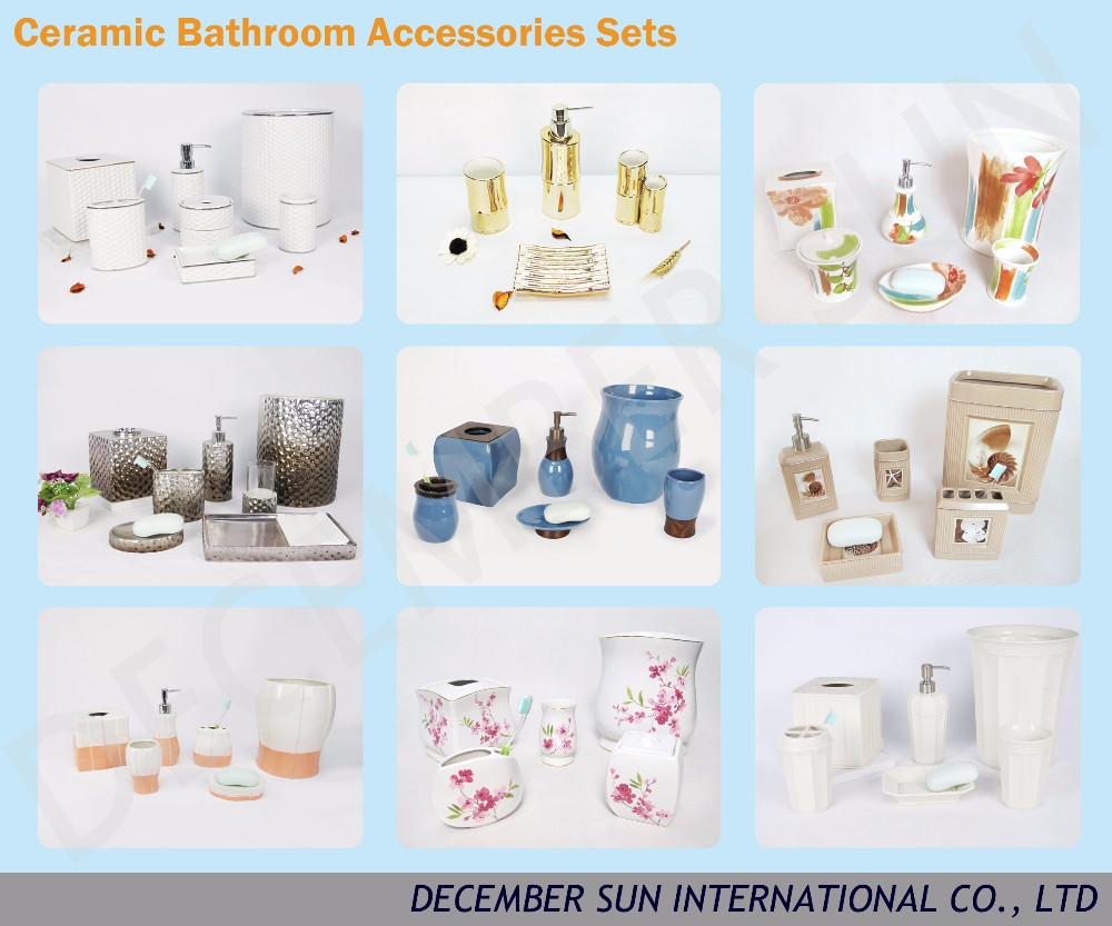 Home goods marble bathroom accessories buy bathroom for Marble bathroom accessories
