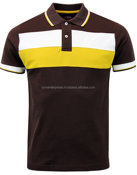 8ee49836f Newest Custom High end Brand Polo T-shirt / Cotton two-tone split jointed