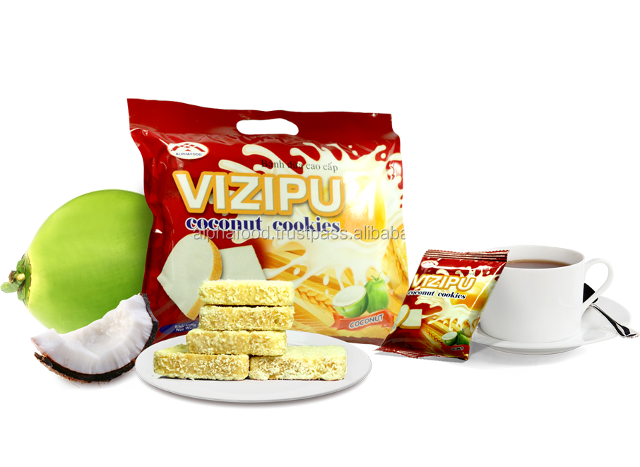 Vizipu coconut cookies- delicious biscuits from Vietnam