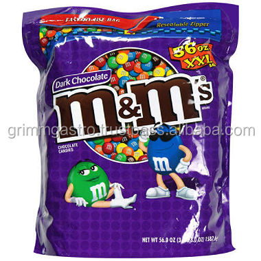 M&M CHOCOLATE AVAILABLE