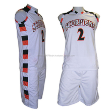 Best Customized Soft Blank Basketball Uniform For Men