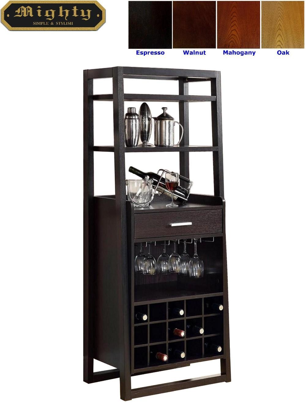 15 Bottles Open Shelves Dulcet Tall