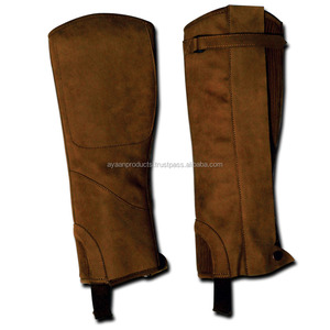 Leather Half Riding Chaps AP-15008