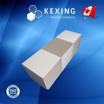 Compound of Cordierite and Mullite Honeycomb ceramic Heat sink media for RTO RCO