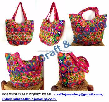 6e16f16ecc Indian Embroidery Suzani bag-Women Tote Shoulder Bag-Designer Boho Bag-Wholesale  Handmade