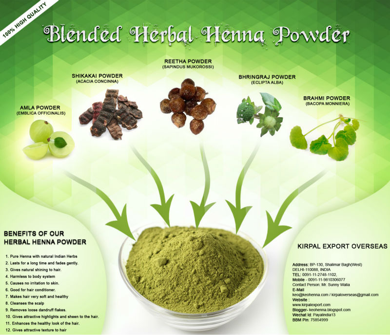Henna Herbal Hair Dye Of India Buy Hair Dye Products