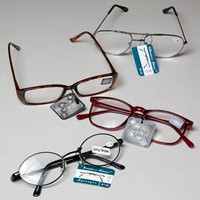 READING GLASSES 9 ASST POWERS METAL/PLASTIC FRAMES IN 240 #14005N