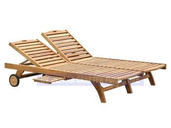 Piscine Plage D'extérieur Double Piscine chaises Longues En Jardin Meubles Teck Buy chaises Chaises De Plage OkwiTXZPu