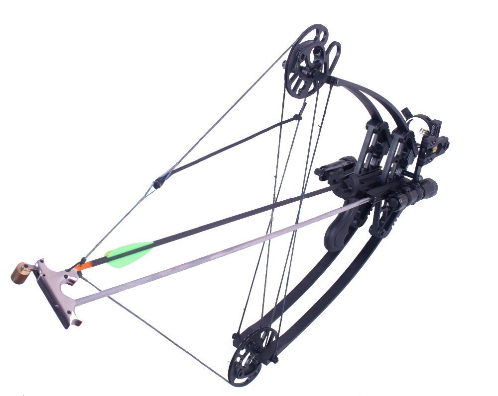M109 camo hunting compound bow and arrow set china for Compound bow fishing