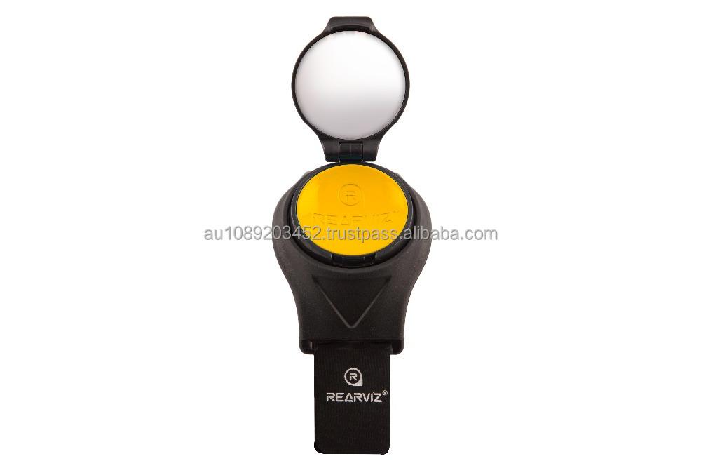 RearViz ST-35 Miroir de v/élo Portable Jaune