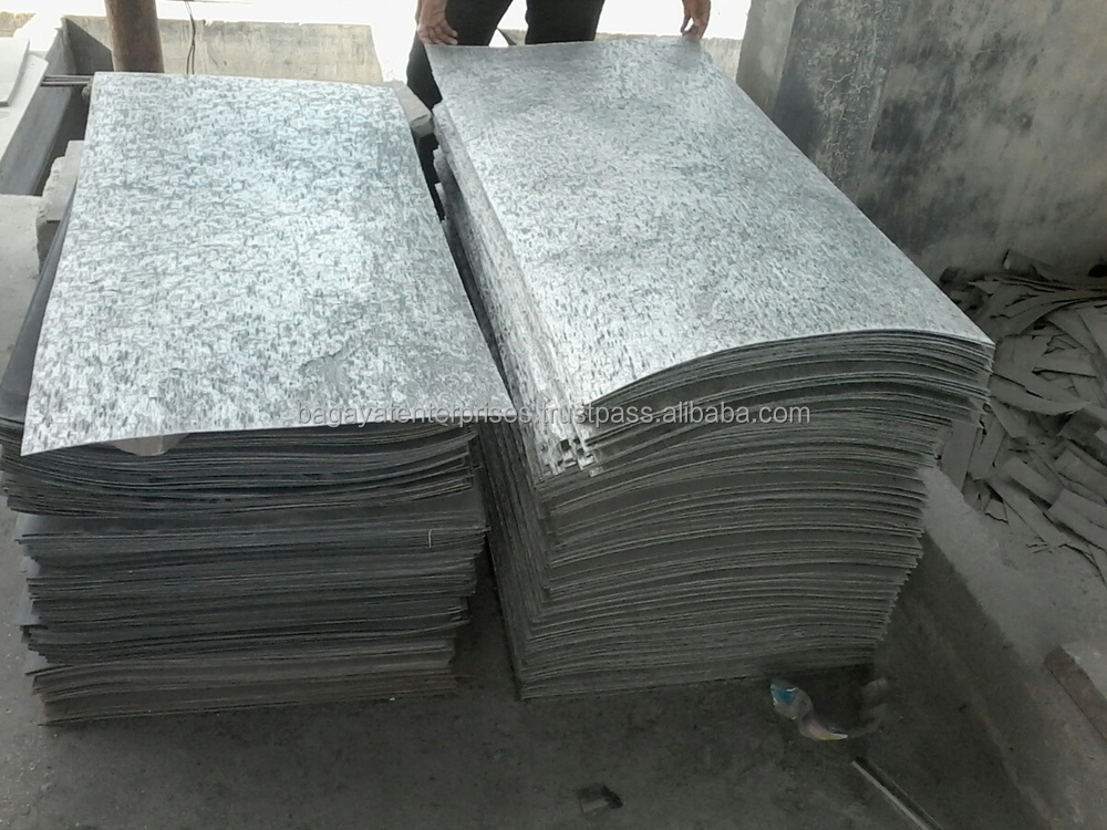 Flexible Stone Veneer : Silver shine slate flexible stone veneer sheets view