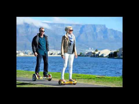 Self-Balancing Electric Hoverboard Scooter