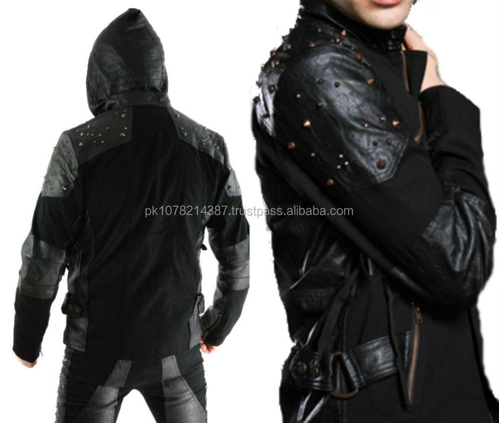 Corset Leather Jacket 18