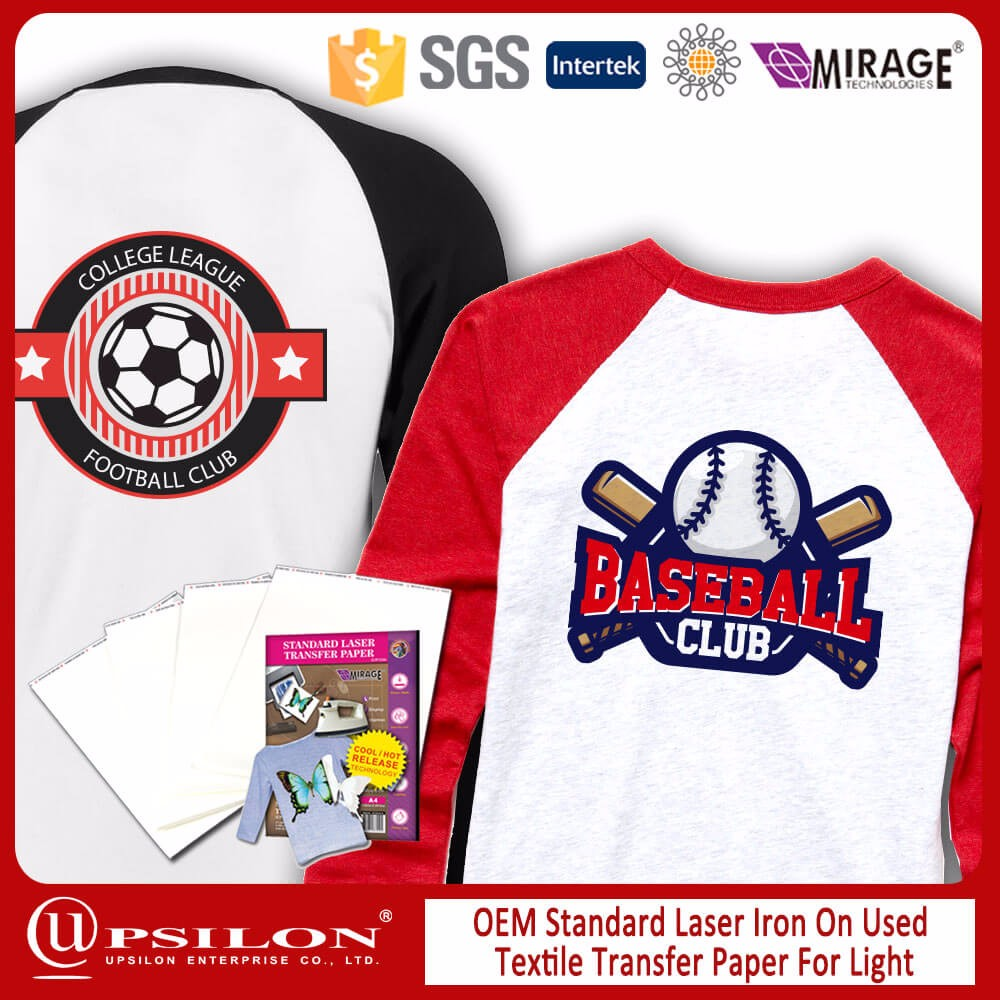 OEM Light T Shirt Laser Heat Transfer Paper In Dubai