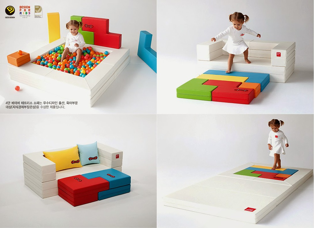 4layer Baby Block Sofa Series Baby Mat Kids Sofa Desk
