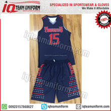 New design reversible basketball jersey, Sublimation Basketball Uniform