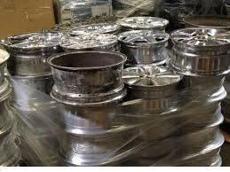 Pure 99.9% Aluminum Scrap 6063,Alloy Wheels Scrap Baled Ubc ...