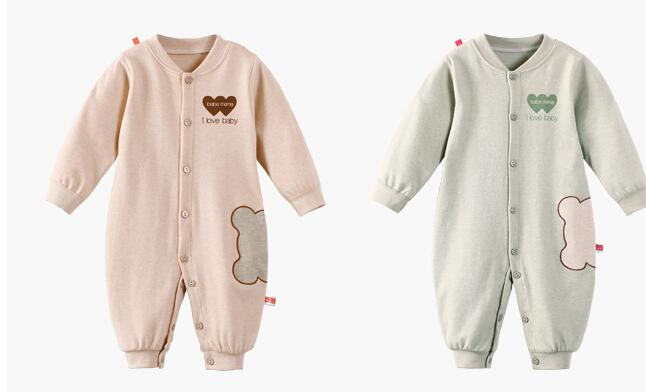 new design custom organic cotton one piece baby romper infant clothes