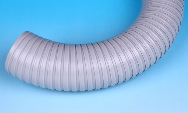 Kanaflex expandable and durable N.S. duct hose for spot air conditioner. Made in Japan (portable air conditioner hose)