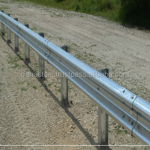 Road safety guard rail barrier manufacturer uae dana