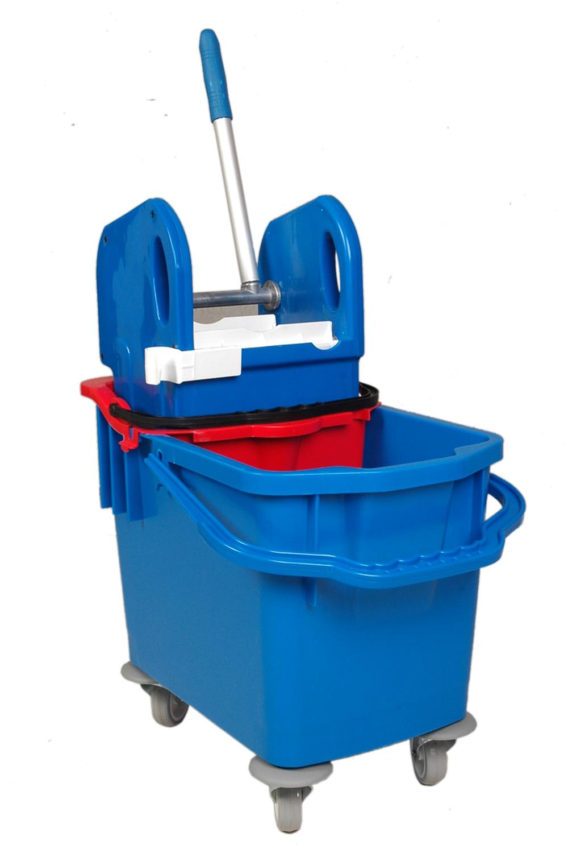 Double Bucket Mop Trolley 25l Buy Double Mop Wringer