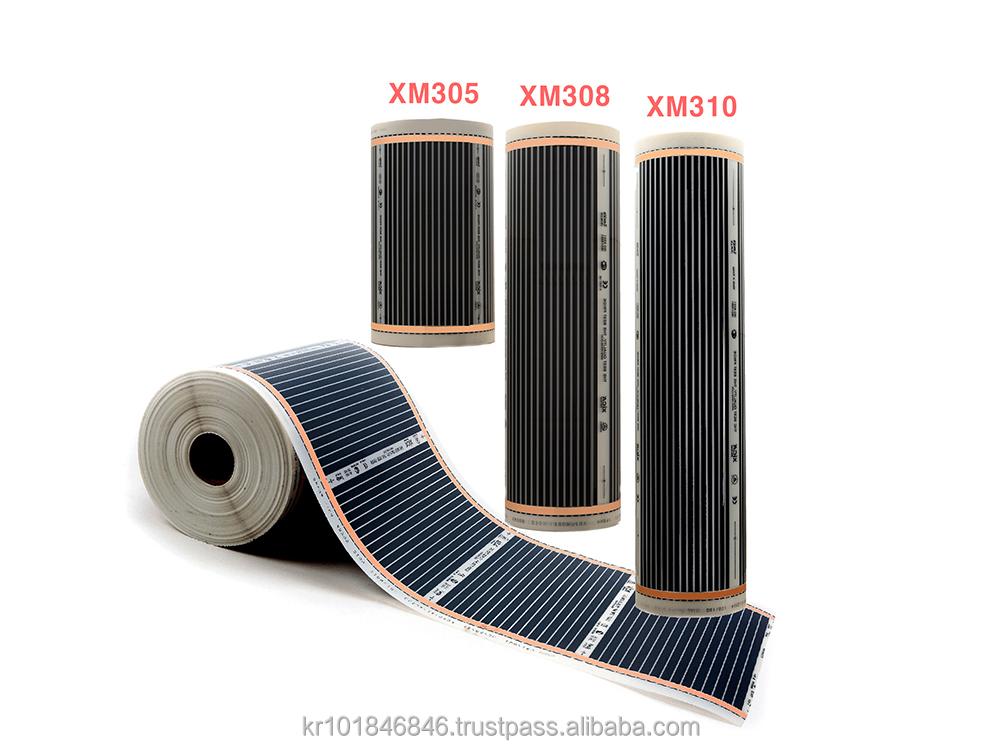 plancher chauffant de carbone film par rexva lectrique ptc chauffage film confort. Black Bedroom Furniture Sets. Home Design Ideas