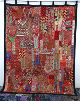 Handmade Patchwork Curtains,Cotton Indian Style Curtains and curtain Panels