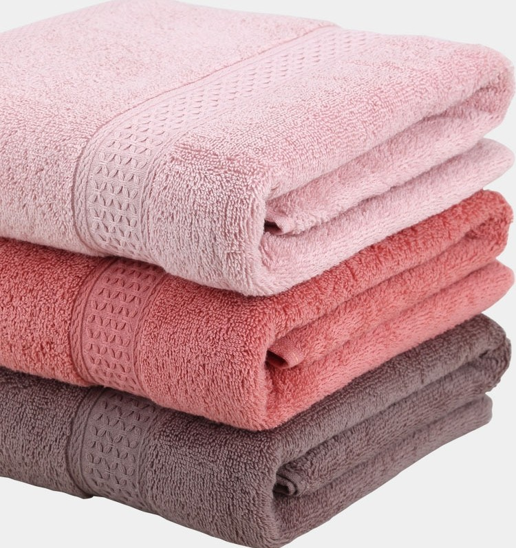Good Hand Feeling Wholesale Customized Cotton Bath Towels