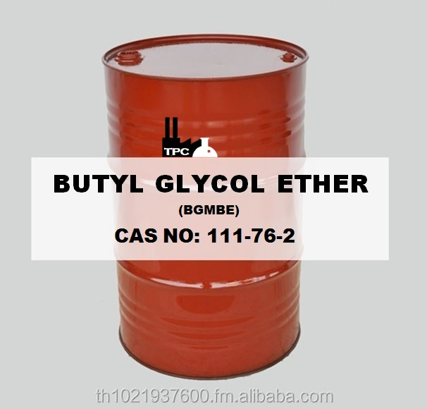 Butyl Glycol Ether - BGE Solvent 99.95%min High purity Eco Pack New Pack Isotank butyl cellosolve From thailand
