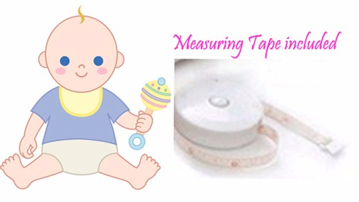 Baby Weighing Scale, Bluetooth Weight Scale For Baby, including Length Measuring, Shock Proof Function Baby Scale, SIFSCAL-3.5