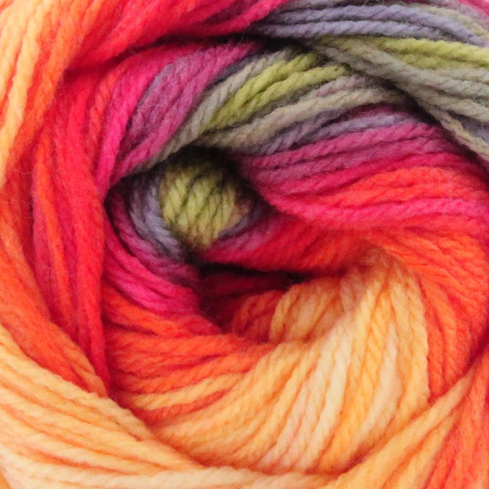 Wool Hand Knitting Yarn Papatya Batik 553-14