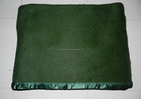 85 % Acrylic 15 % Polyester Acrylic Military Blankets in Olive Green, Navy Blue, Soft Brushed Quality
