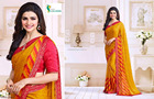 Daily wear rajasthani bandhej print georgette sarees - Indian Sarees online wholesale