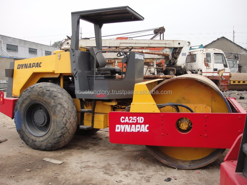 Used dynapac roller ca251d, also ca25d,ca30d,ca301d,ca402 price road roller